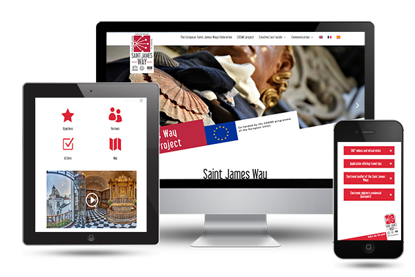 saintjamesway web developer portfolio