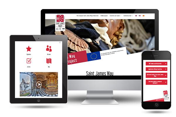 saintjamesway web developer portfolio